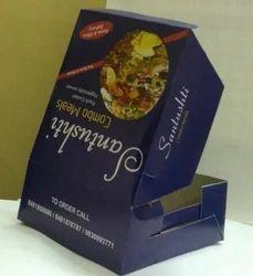 Multicolor Paper Food Percel Box