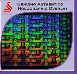 Genuino Autentico Holographic Overlay