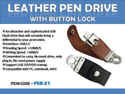 Leather Pen Drive