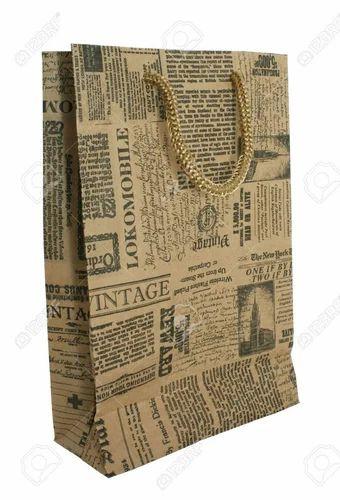 Handmade Newspaper Bag Nathupura Delhi