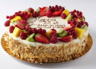 Sensational Fresh Fruit Cake Ji Ji Cakes Gurgaon Id Personalised Birthday Cards Epsylily Jamesorg