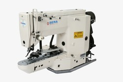 Lockstitch button  sewing machine