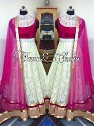 Heavy Neck Anarkali Suit