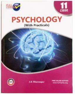 11th Standard Psychology Book