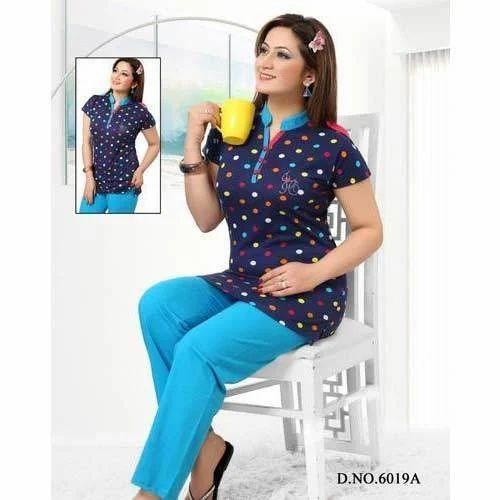 73be91a12b Designer Ladies Night Suit, महिलाओं के लिए ...