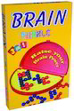 Multicolor 3 In 1 Brain Puzzle Intellectual Educational 3d Brain Teaser