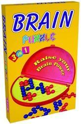 3 in 1 Brain Puzzle Intellectual Educational 3D Brain Teaser