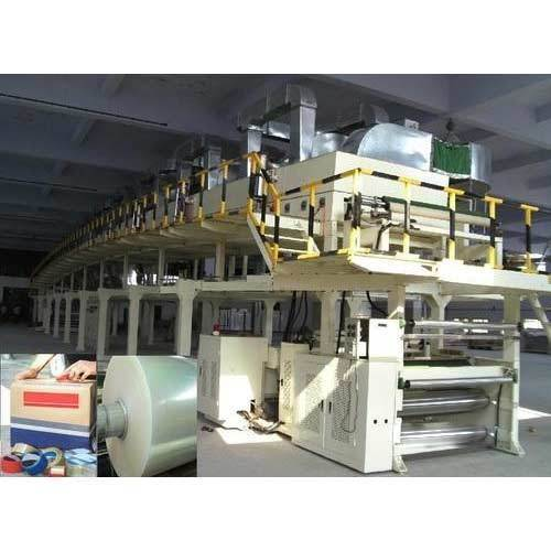 Automatic 3 Phase BOPP Tape Coating Machine