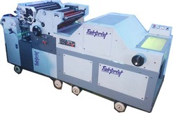 Double Color Satellite Poly Offset printing machine