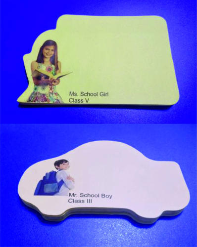 sticky notes with shapes customized stationery office supplies