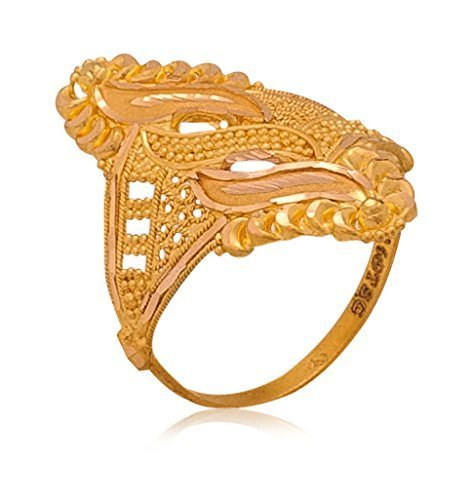 Ladies Gold Ring at Rs 20000 /piece(s) | Gold Ring - AR ...