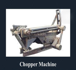 Chopper Tyre Cutting Machine