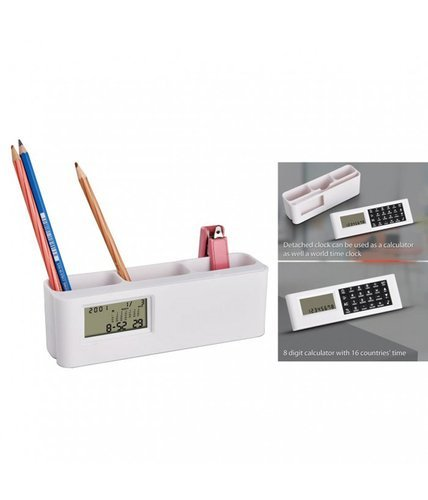 minura space saver clock with tumbler world time calculator at rs