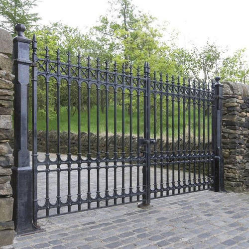 Cast Iron Railing Gates Ci Gate Sakhiya Industries