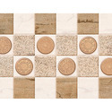 Ceramic Decorative Wall Tiles, Thickness: 8 - 10 Mm, Size: Small
