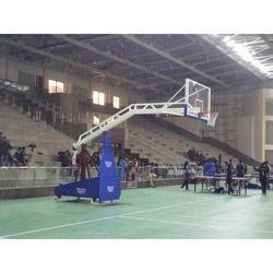 Movable Basketball Pole