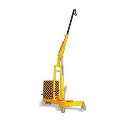 Floor Crane - Hydraulic Floor Crane (U Type) Manufacturer from Noida