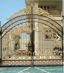 Raj Swing Cast Iron Gate, For Residential
