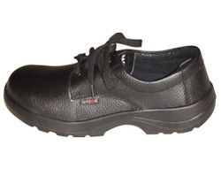 Male ISI Action Milano Leather Black Safety Shoes