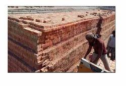 Red Fly Ash Bricks