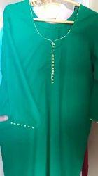Green Punjabi Ladies Dress