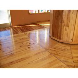 Brown Residential Building Hardwood Flooring Service
