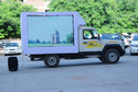 Led Mobile Van Advertising Service