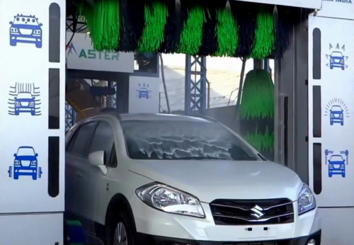 Car Wash Machine Nissan Clean India Private Limited Exporter In
