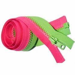 Designer Plastic Zipper