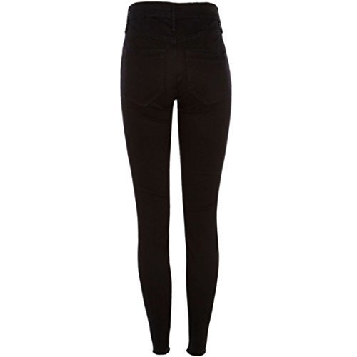 62f0530b08e4d Plain Ladies Black Jeggings, Rs 299 /unit, Karrvs Female Trends | ID ...