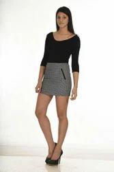 Black Skirt N Top