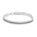 Ultra Light Fabrizia 925 Sterling Silver Bracelet