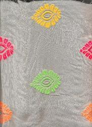 Beautiful Motif Georgette Embroidery Fabric