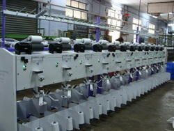 Double Yarn Winding Machine