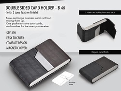 Card Holder - Two Tone