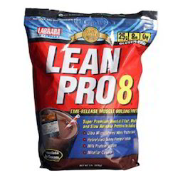 Protein Whey Proteins Labrada Nutrition Lean Pro 8, 5 lb Chocolate, Powder