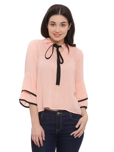 Cotton Casual And Party Wear Ladies Tops
