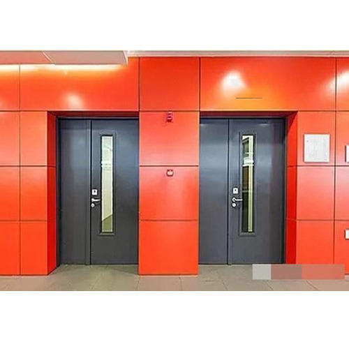 Metal Fire Retardant Door