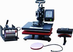 Combo heat press suppliers manufacturers in india for T shirt manufacturing machine in india