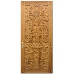 Teakwood Door (Carving)