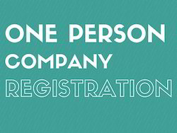 One Person Company Registration OPC