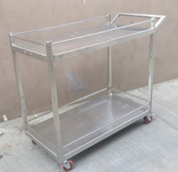 SS Instrument Trolley