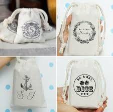 Custom Promotional Muslin Bag