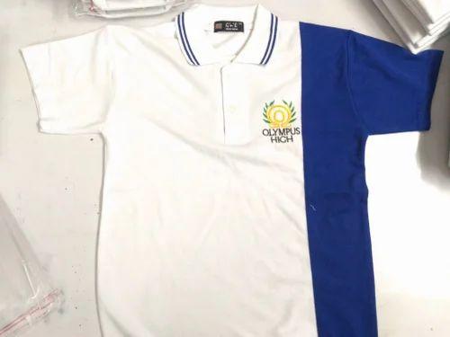 d0470c60a School T Shirts - School Boy's T Shirts Manufacturer from Ludhiana
