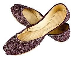 Embroidery Leather Footwear