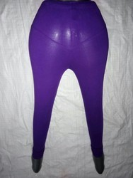 Straight Fit Plain Lycra Leggings, Size: Free Size, Age Group: 12 To 50