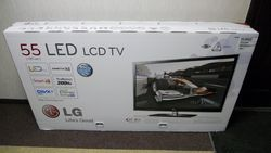 LED TV Packing Box
