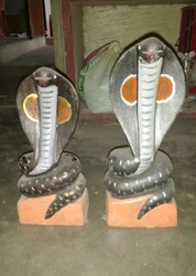 Snake Statues