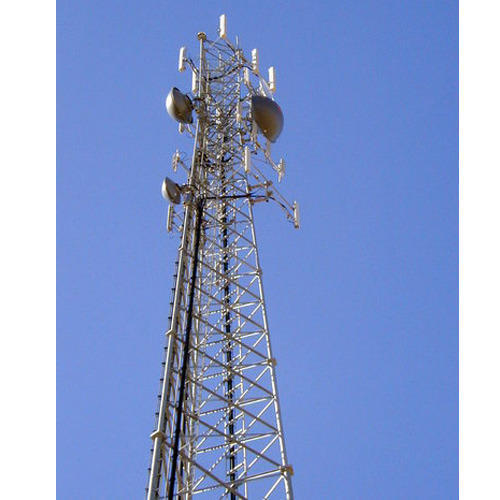 GSM Telecommunication Tower Manufacturer From