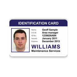 ID Card - Identity Card Manufacturer from New Delhi